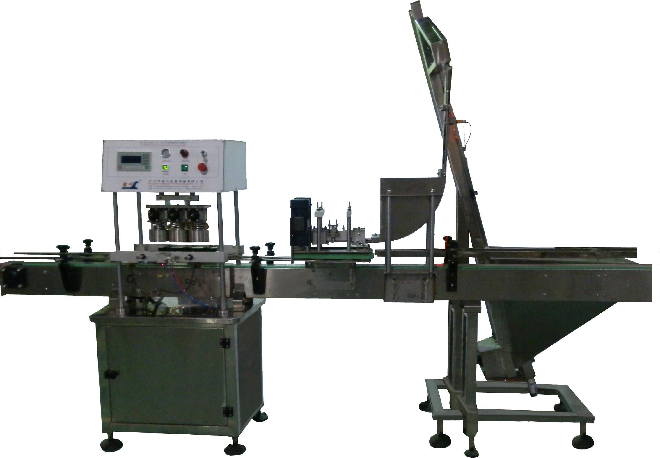 vacuum capping machine automatic for glass jar in food industry linear capper equipment