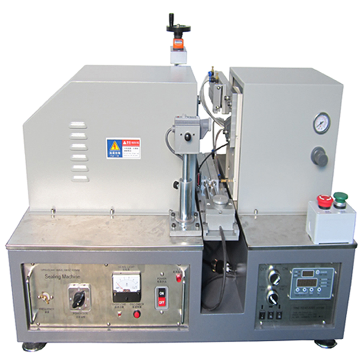 Ultrasonic soft tube sealing&cutting machine plastic tubes sealer cutter equipment