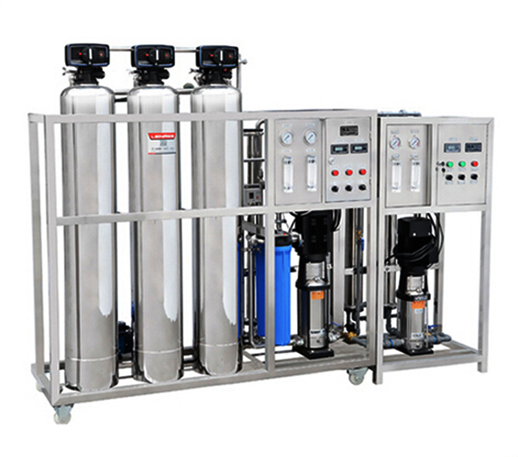 stainless steel reverse osmosis treatment industrial water purification system 500L-3000LPH water purifier filter equipment