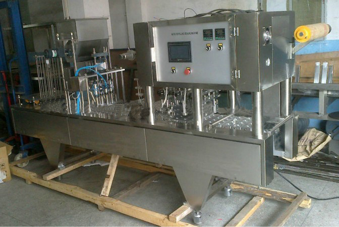 cups filling sealing machines automatic jelly juice drinking nespresso coffee containers filler and sealer equipment