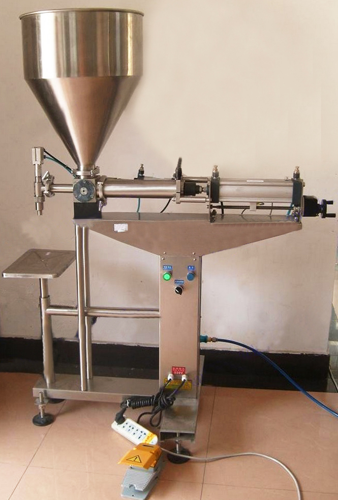 desktop semi automatic liquid filling machine full pneumatic lotion cream filler equipment Machine de remplissage liquide