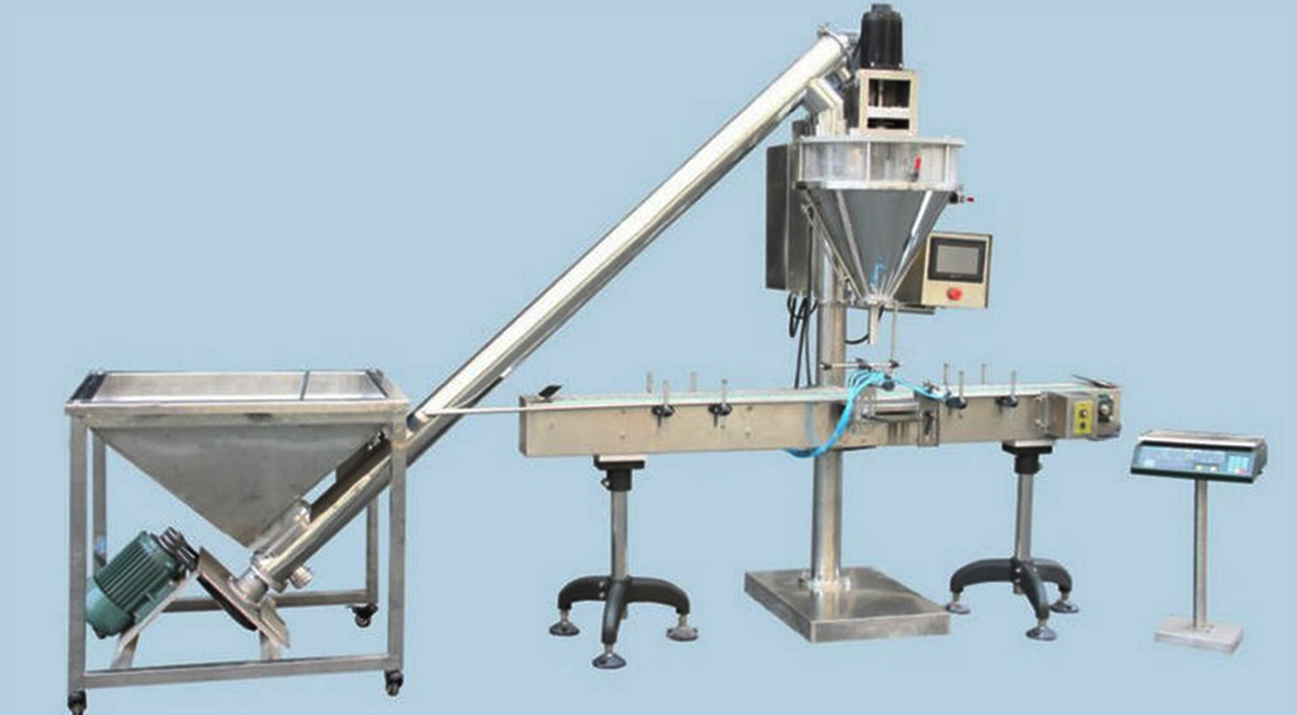 auger metering filling packing machine semi automatic for powder milk soybean pharmaceutical bottles bags weigher filler machinery