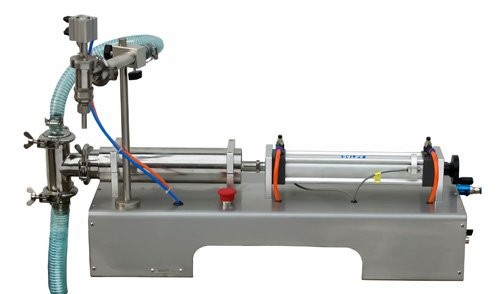 shampoo filling machine fully pneumatic semi automatic horizontal liquid lotion cream filler equipment