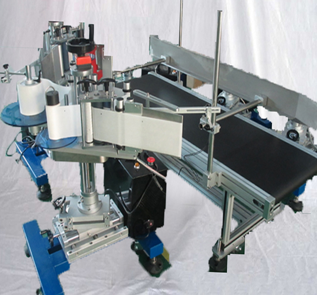 automatic carton boxes single side labeling machine customized labeller equipment for flat surface objects