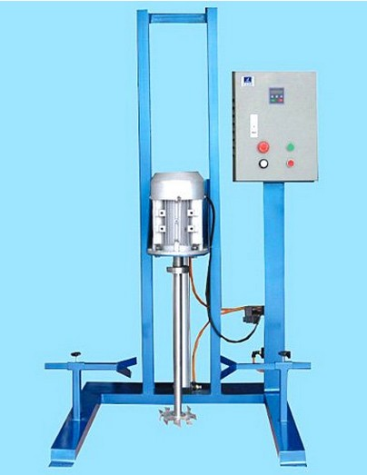Moveable pneumatic high shear dispersing equipment fixed high speed disperser machinery cream lotion sauce cosmetic pharma food Laboratory  industry