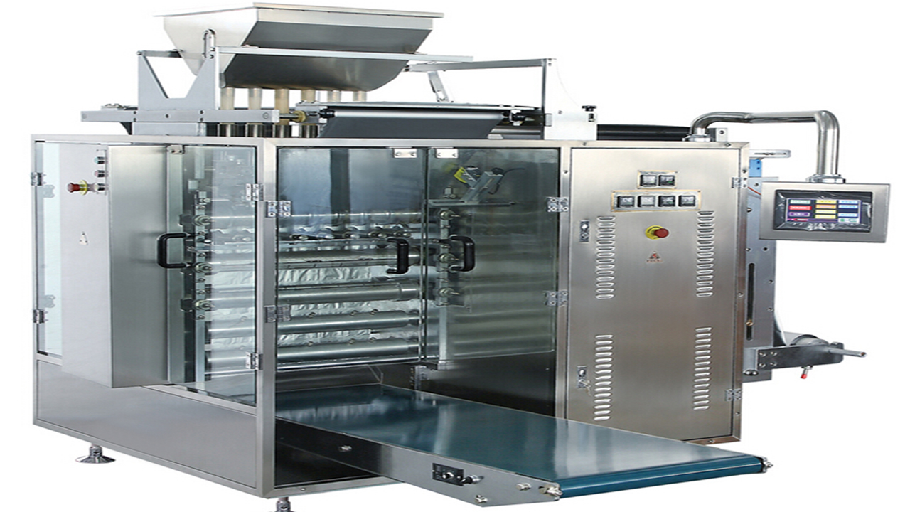 Multi lanes sugar granule coffee stick packing machine shampoo liquid powder multilane VFFS packaging equipment high speed