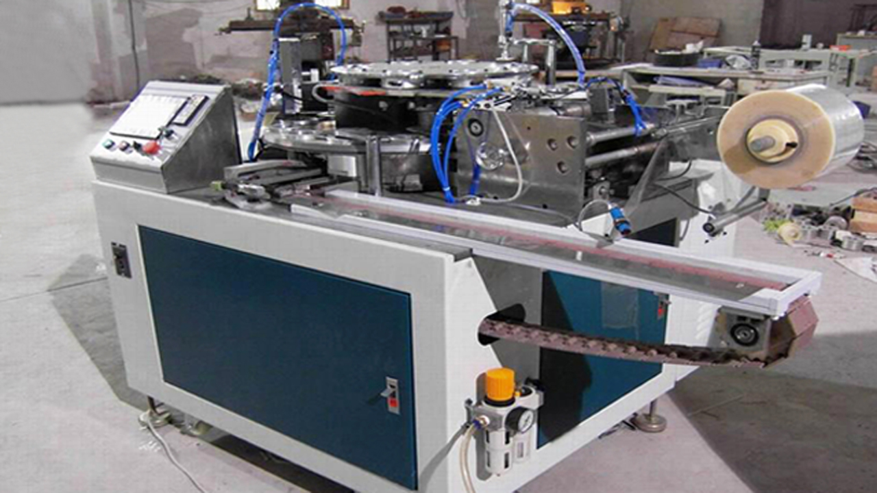 Pvc Tapes Electric Adhesive Tape Packing Machine Fully