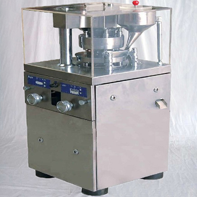 Rotary tablet press machine automatic powder tabletting equipments pharmaceutical medical making machinery