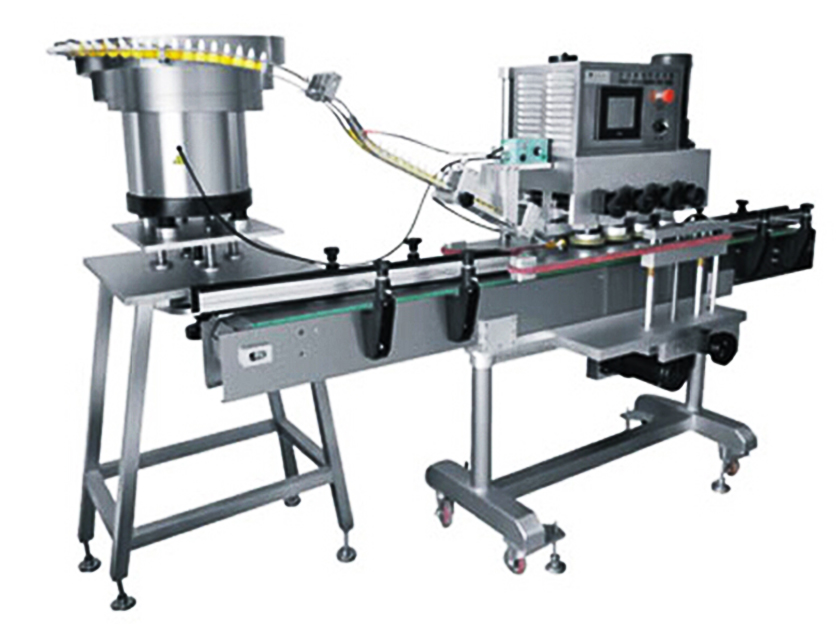 high speed screw capping machine Glass plastic bottles screw capper equipment linear with Touch screen control system