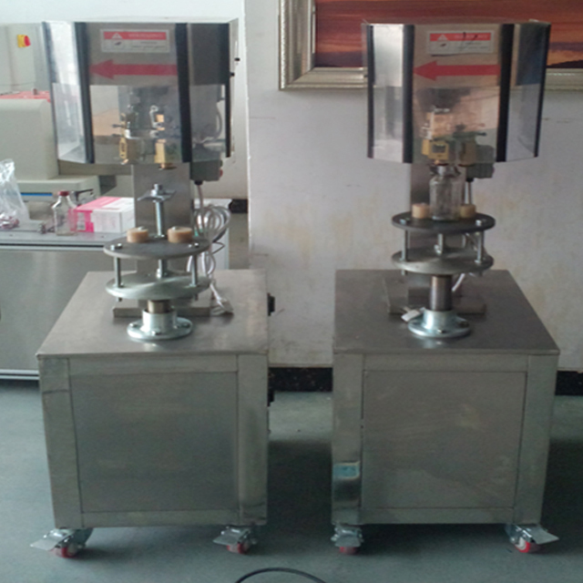 Semi Automatic Metal Caps R O P P Capping Machine Wine