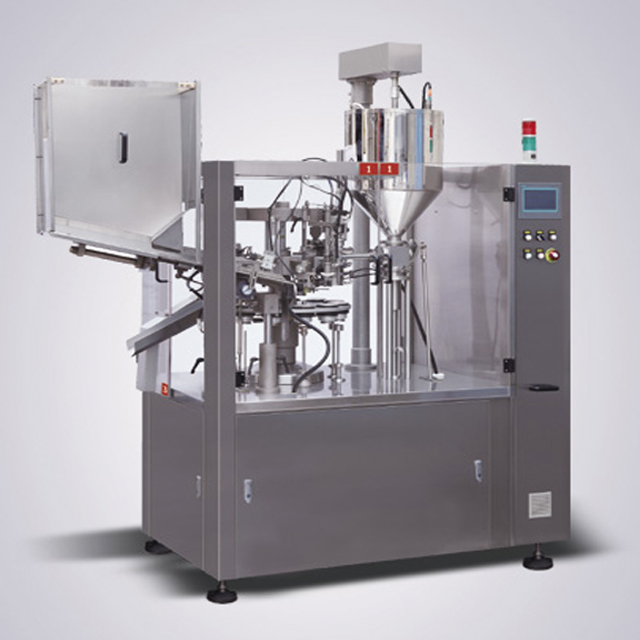 aluminum tubes hose sealing machine fully automatic metal tube folding filling sealer equipment