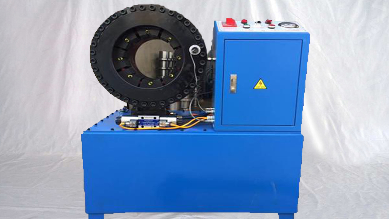 semi automatic hose pipes hydraulic crimping machine power shearing crimper sealer equipment 液��C高�河凸芸�涸O��