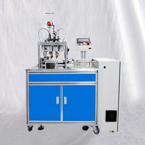 Semi automatic earloops ultrasonic spot welding machine N95 fodling respirator&disposable mask welder equipment