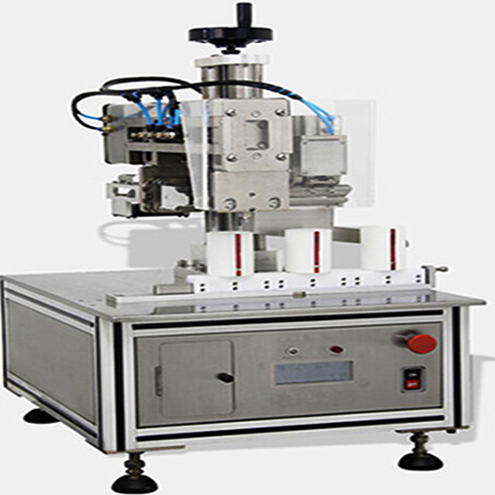 inline tubes plastic laminated hose sealing machine ultrasonic sealer equipment straight line